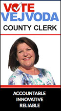 Nancy Vejvoda for County Clerk