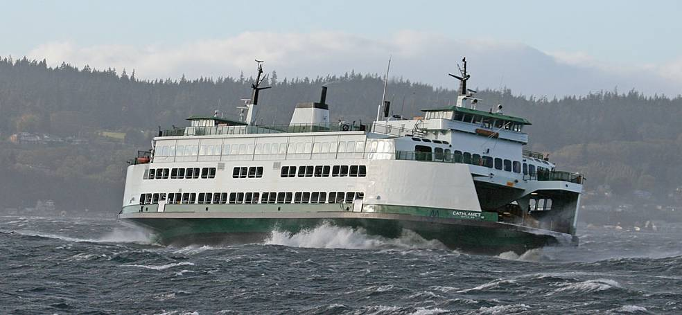 Victoria Island To Seattle Car Ferry