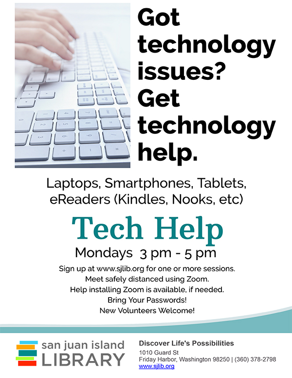 Technology Help at Library