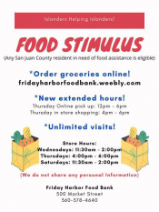 Food Bank Extended Hours