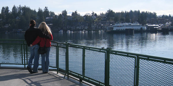 Coming into Friday Harbor in late winter.....