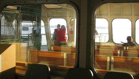 Anacortes to Sidney ferry in Washington State