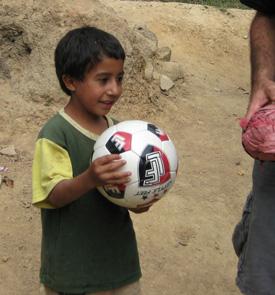Helping kids in Honduras....