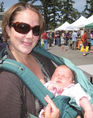 Danielle & Livia, doin' the Market