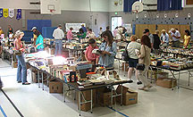 Monster book sale - at the elementary school - see ya there!