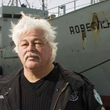 Paul Watson founder and president of the Sea Shepherd Conservation Society.