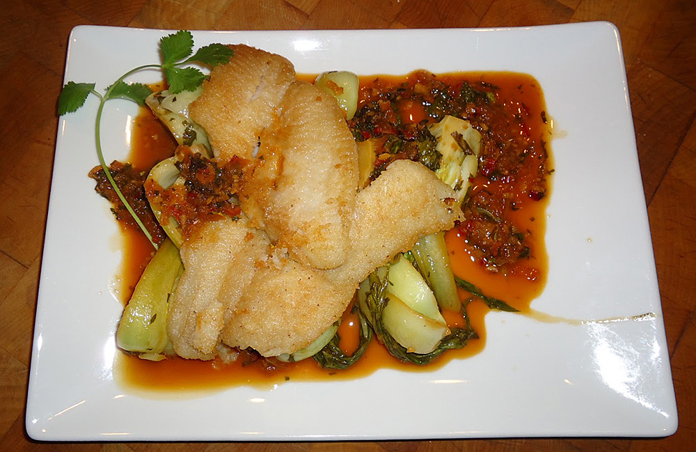 Chef Hobbes' Dover Sole for Two looks delicious!