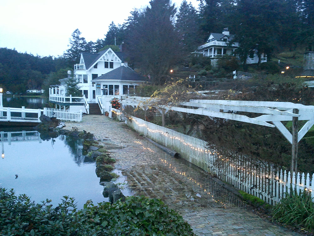 Roche Harbor Resort, about 8:30 A.M., Dec. 17, 2012 - Kevin Holmes photo