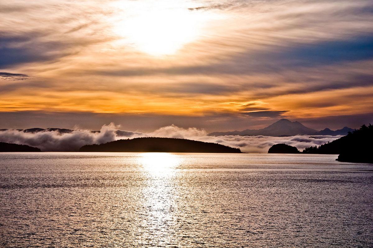 San Juan Islands Sunrise - Aaron Shepard photo