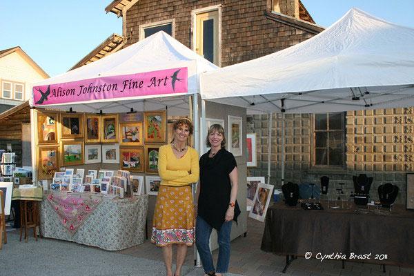 "Friday Harbor Art Market ""Call for Vendors"" - Deadline is April 19 - Cynthia Brast photo"