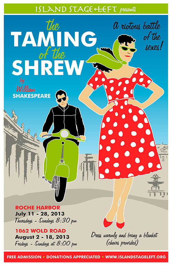 The Taming of the Shrew - a riotous battle of the sexes!