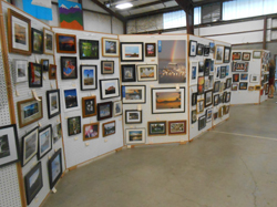 Some 440 photos grace the Fairgrounds' Building's photo display - be sure & drop by & see it! (Photo by Ian Byington)