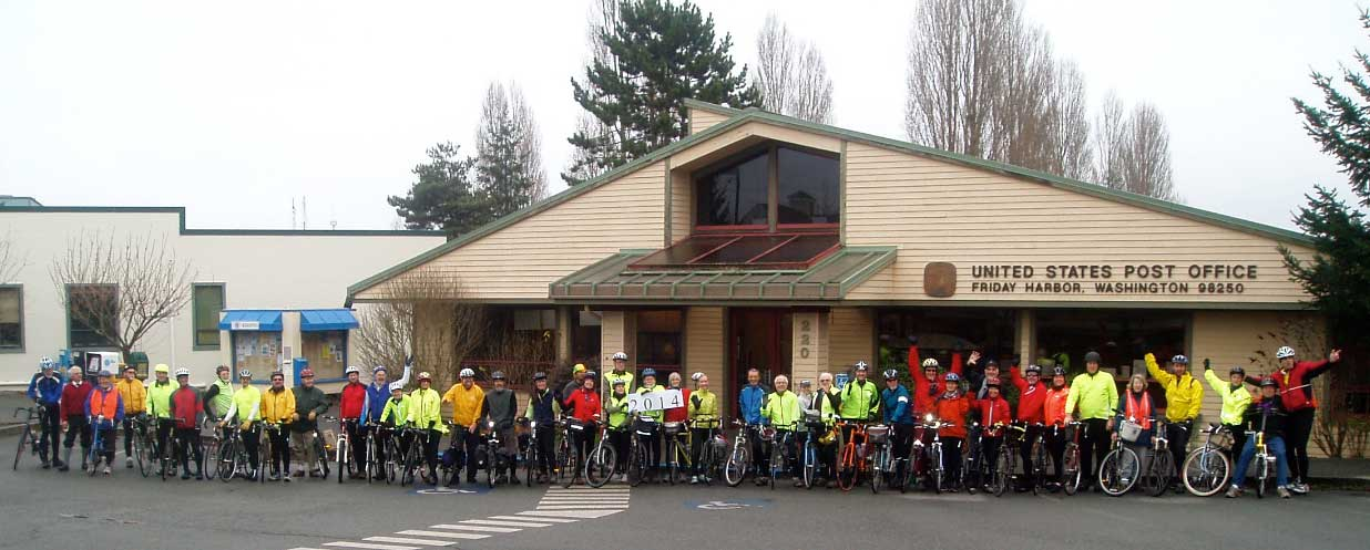 30th Annual Commitment Ride, New Year's Day, 2014 - John Stimpson photo - Click for larger version