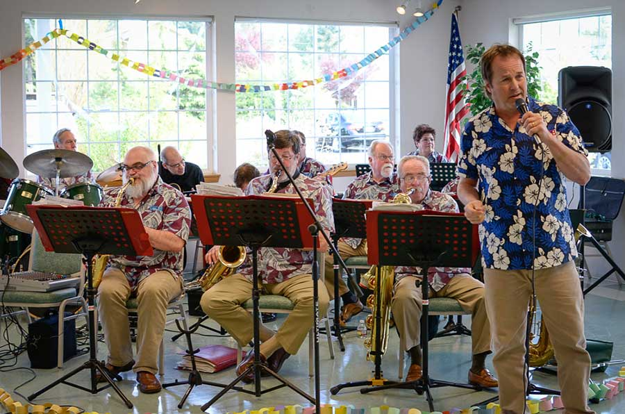 Jimmy Moe and the One More Time Band at last year's Sock Hop at the Mullis Center - Tim Dustrude photo