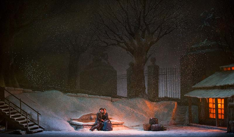 La Boheme, A Scene from Act III - Jonathan Tichler photo