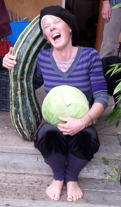 Christine Langley of Lopez Island; winner of the Farmland Stewardship award - Contributed photo