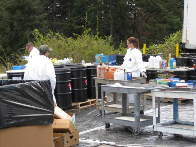 Lopez Household Hazardous Waste Round-up -  Contributed photo