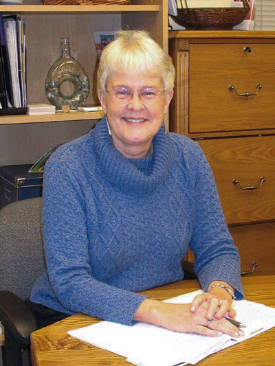 Sandy Harold at SVC - Contributed photo