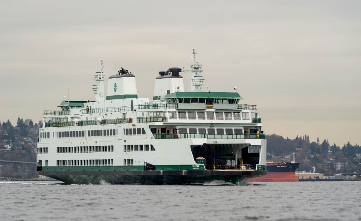 144 Car, Olympic Class ferry M.V. Tokitae - Click to enlarge - WSF Photo