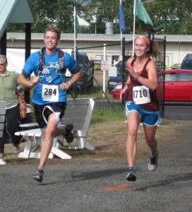 Runners in the Annual 8.8K Race - Photo courtesy of Island Rec