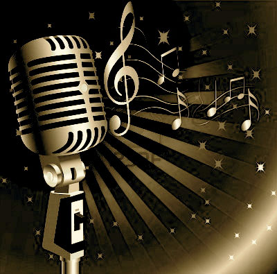 music-background-w-golden-mic