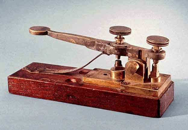 Samuel Morse Telegraph Key - Contributed photo