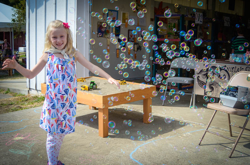Bubble fun at the Fair - Tim Dustrude photo