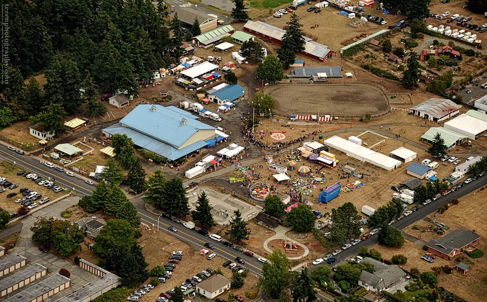 Aerial view of the 2014 Fair. Do you see yourself? - Chris Teren photo