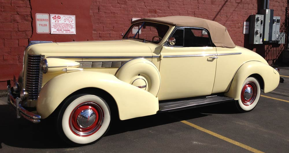 This rare 1938 Buick 46C Special will be arriving from Yakima