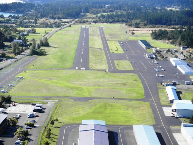 Final Approach to Friday Harbor Airport - Port of Friday Harbor photo