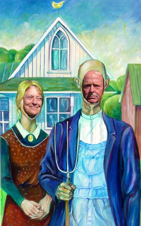 American Gothic Photo Op - Contributed Photo