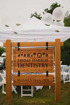 BBQ at Friday Harbor Dentistry - Sara Parsons Photography