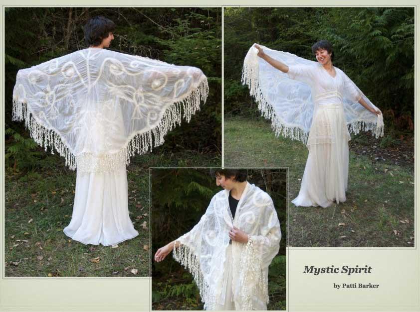 Mystic Spirit Shawl by Patti Barker