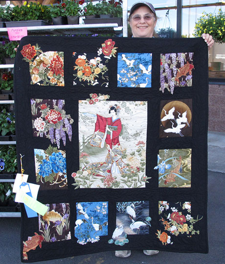 Blue Ribbon Quilt for Raffle - Contributed Photo