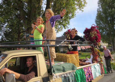 Farm Parade - Photo by Peggy Sue McRae