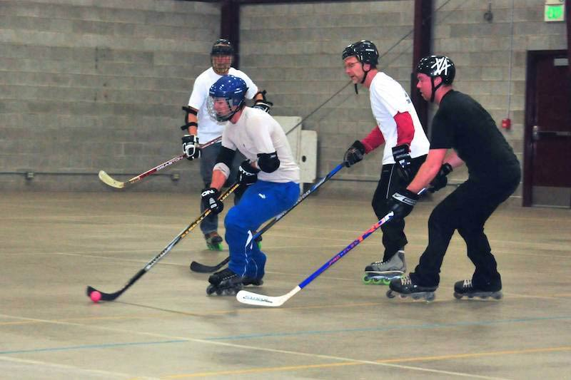 Roller Hockey Action - Contributed photo