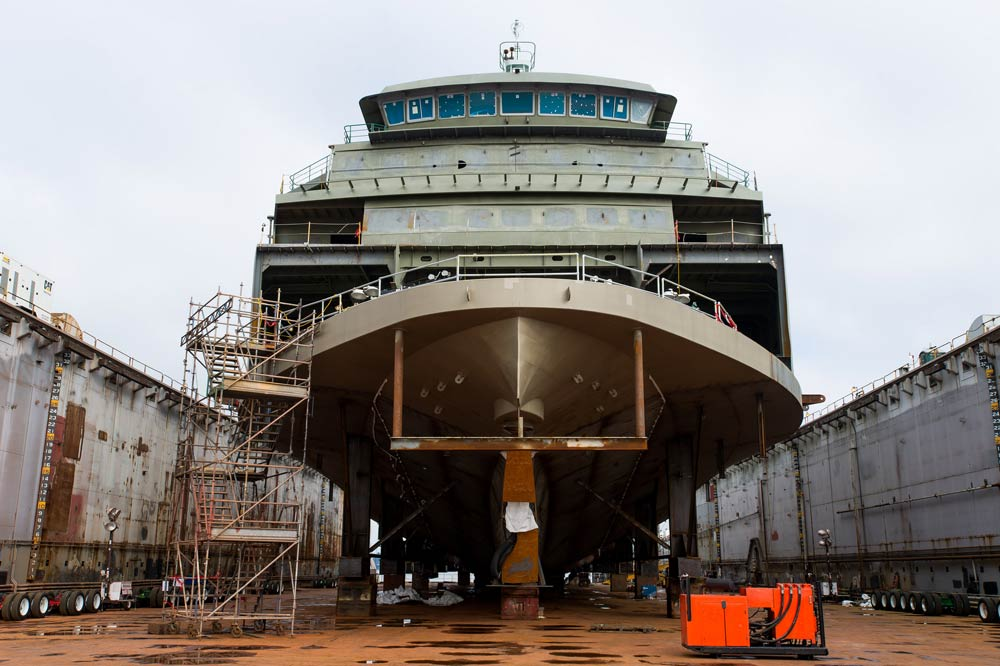 M/V Tokitae, a 144 car Olympic Class ferry as it looked in March of 2013 - Photo by Stuart Isett/Vigor