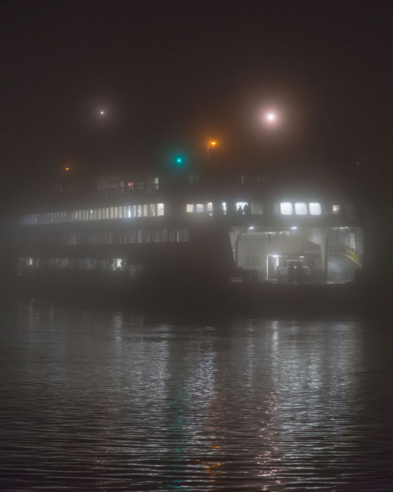 Yakima arriving in fog - Aaron Shepard photo