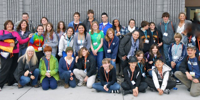 This photo is from 2012 when all three local Prevention Coalitions traveled to the WA. State Prevention Summit in Yakima. We talked about making a Youth Leadership Conference back at this Summit! We are so excited it's really happening… Watch for more updates from this group.