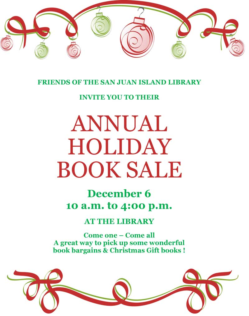 Book Sale Flyer - Click to enlarge