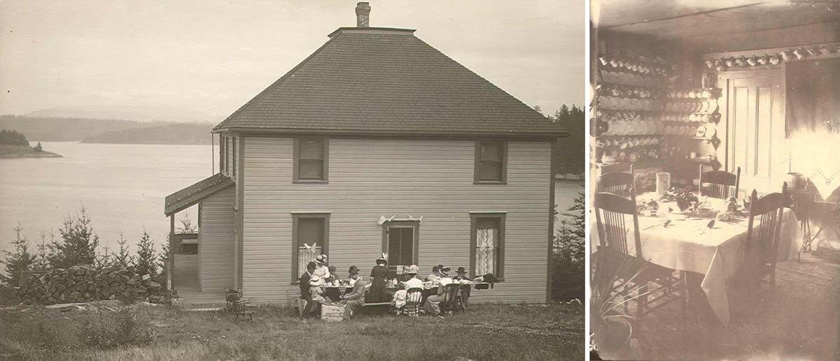 Dinnertime in the San Juans - SJ Historical Society photo