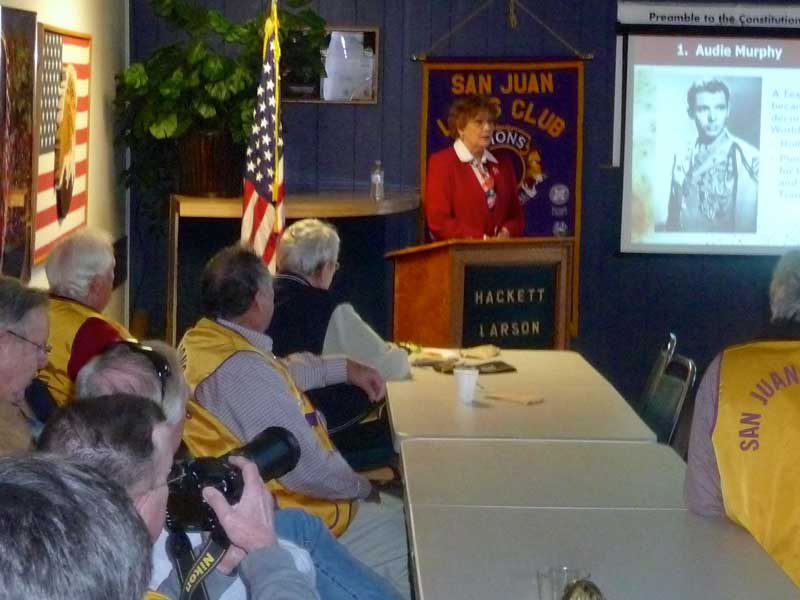 Veteran's Day at the Lion's Club - Contributed photo