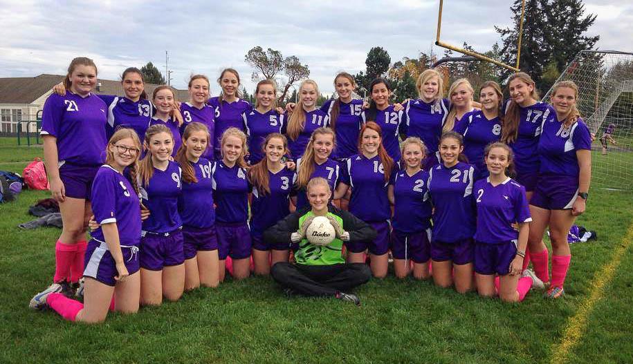 FHHS Girls Soccer team - Emily Carrington photo