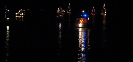 Lighted Boats on the Harbor - Contributed photo