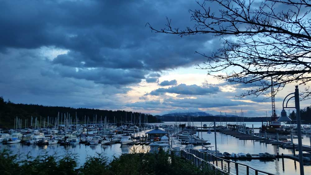 Storm Clouds over the Harbor - Kevin Holmes photo