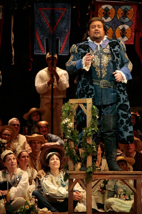Johan Botha as Walther Meistersinger - Contributed photo
