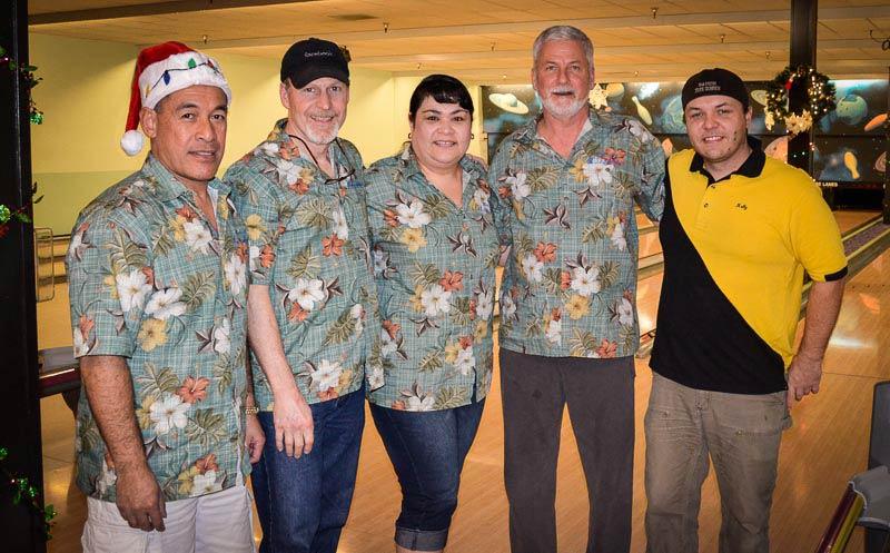 The Lucky Strikes, L-R: Reuben LaLoata, Gary Weybright, Mary Hicks, Richard Pederseon and Kelly Keranen - Tim Dustrude photo