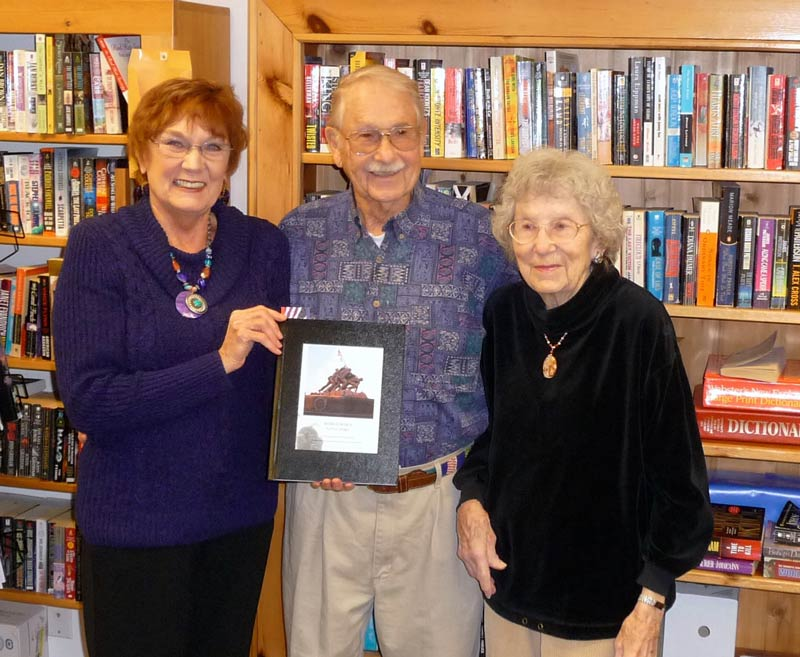 L-R: Minnie Knych, Don Craddock and BJ Craddock - Contributed photo