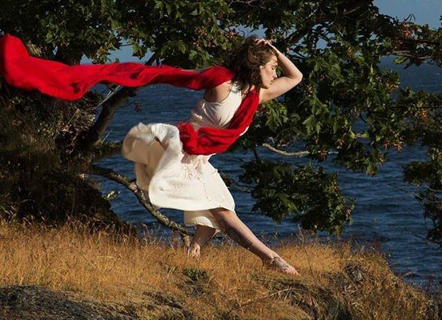 Principal dancer Caitlin Ross, definitely a dancer of the sea (la danse de la mer means dance of the sea) - Contributed photo