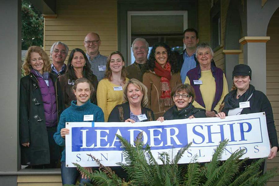 From front to back and left to right: Katie Wilkins, Kim Bryan, Becki Day, Erin Corra, Bella French, Annette McCullough, Sara Waugh, Jodi Spitalli, Liz Taylor, Gregory Maynard, Daniel Vekved, Robert O'Connell and Dave Sather - Contributed photo